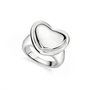 Nambé Signature Heart Ring