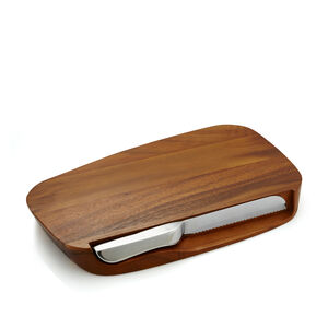 Blend Bread Board w/ Knife - 17.5""