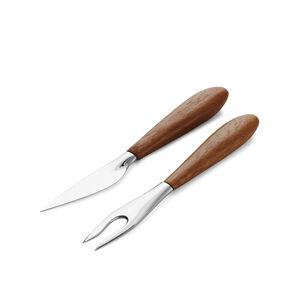 Curvo Cheese Set - Cheese Knife and Fork