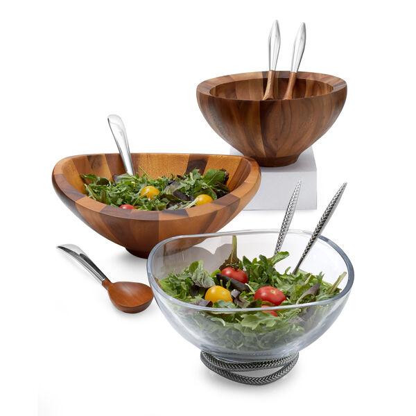 Yaro Salad Bowl W/ Servers