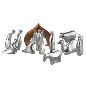12-Piece Nativity Set with Free Storage Box