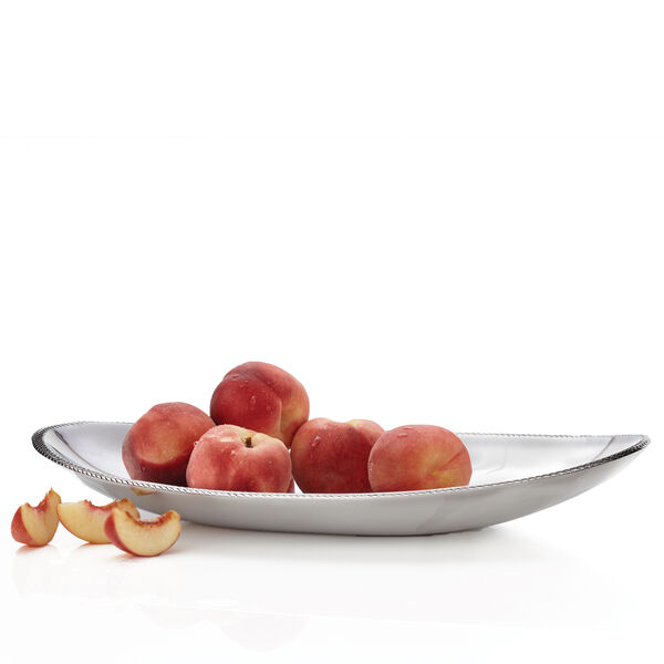 "Braid Oval Platter - 18"""