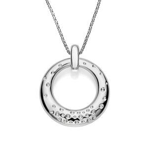 Dazzle Circle Pendant Necklace