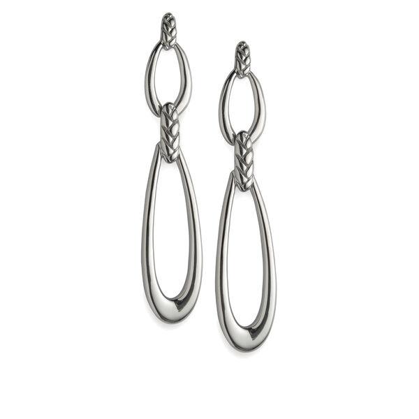 Braid Double Loop Earrings