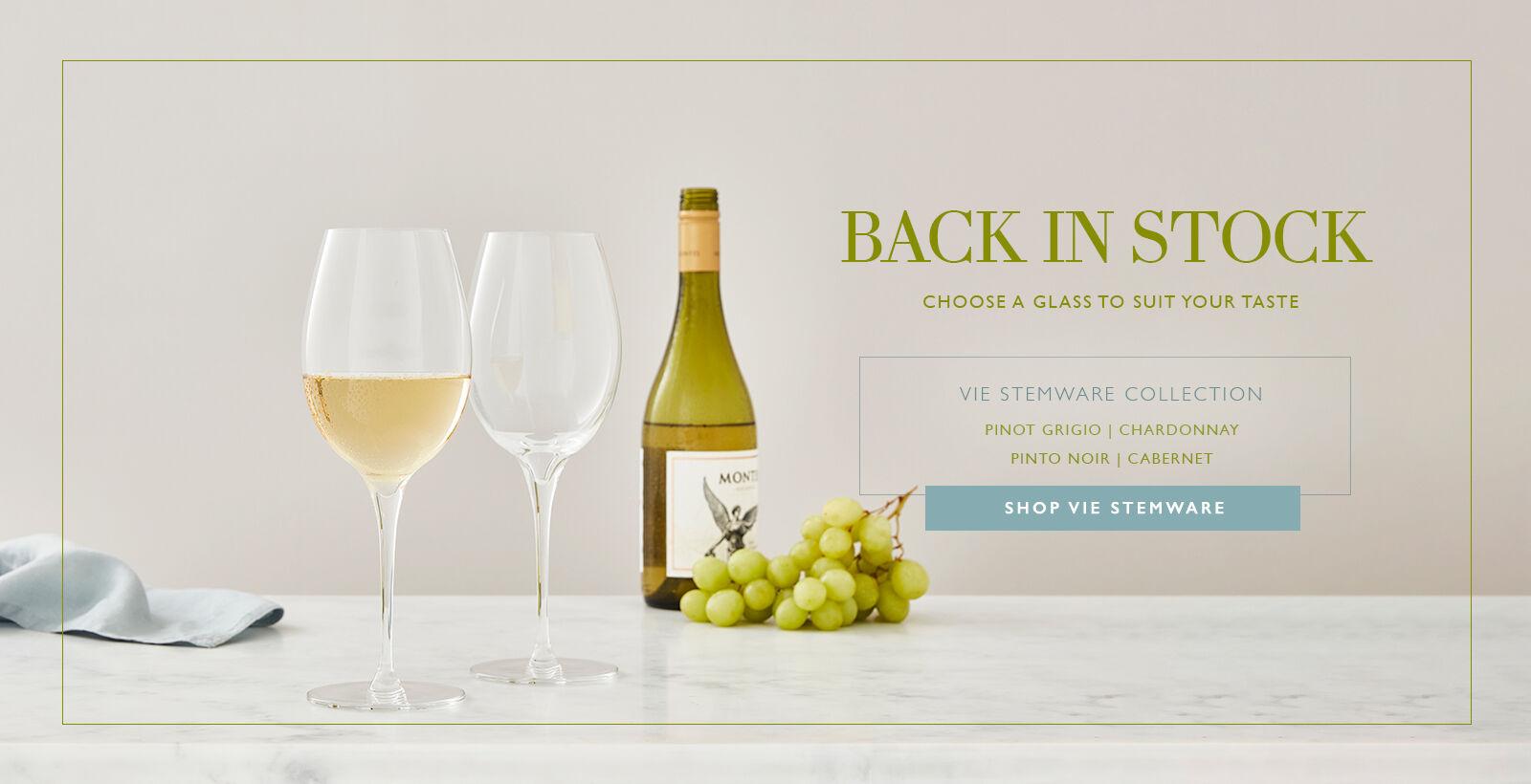 Vie Wine Stems