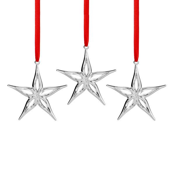 Star Mini Ornaments (Set of 3)
