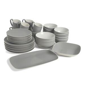 POP Complete Dinnerware Bundle - Slate (42 Pieces)