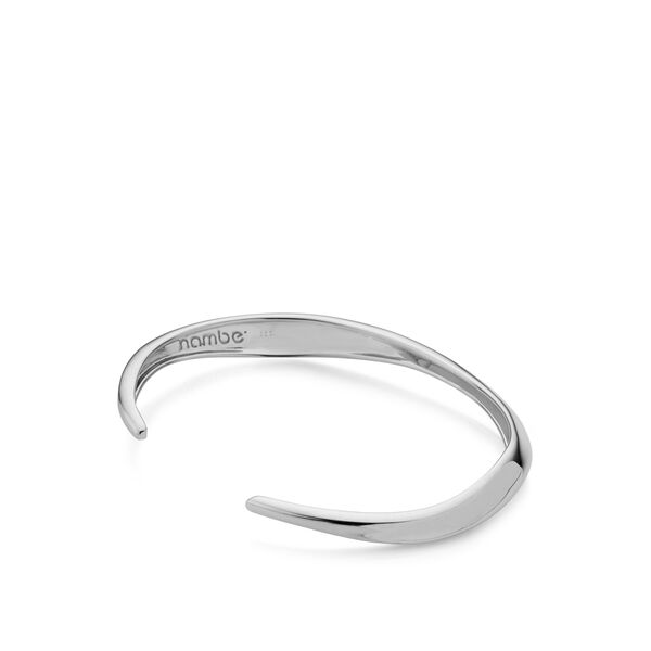 Narrow Twist Cuff Bracelet