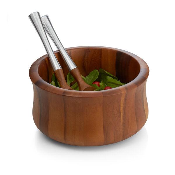 Nara Salad Bowl W/ Servers