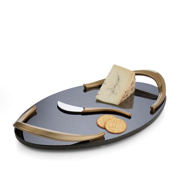 Eco Handled Cheese Board W/ Knife
