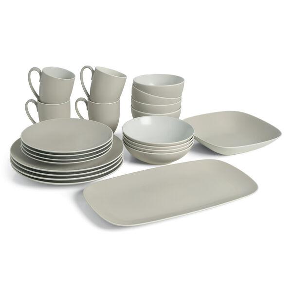 POP Starter Dinnerware Bundle - Sand (22 Pieces)
