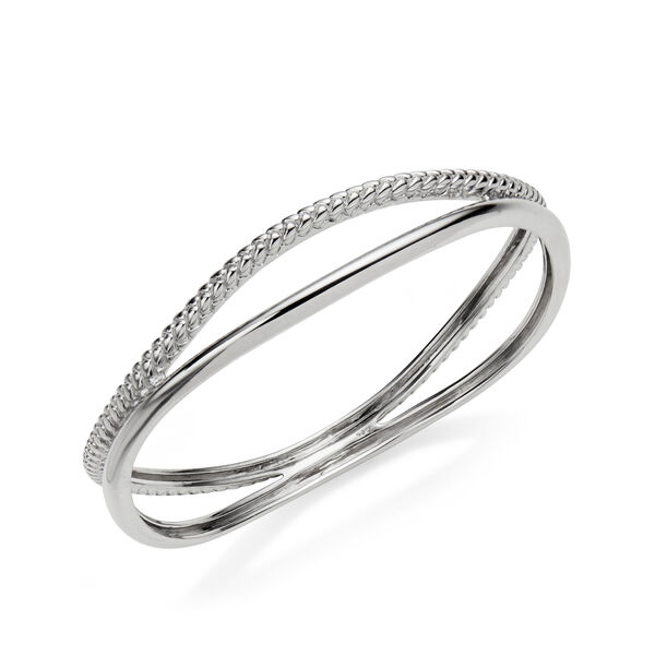 Braid Bangle Bracelet
