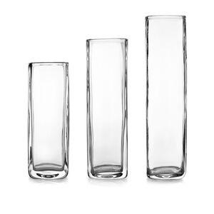 Moderne Square Vases - Set of 3