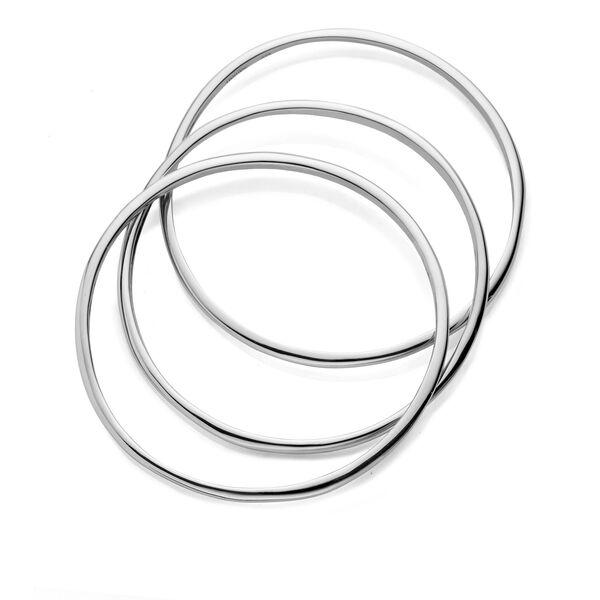 Signature Bangle Bracelets (Set of 3)