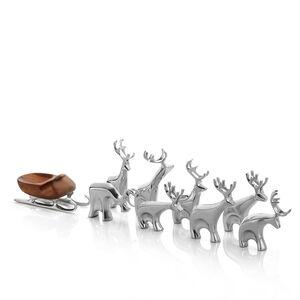 Miniature Reindeer 9pc Set
