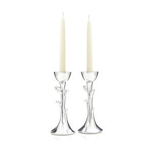 Tree of Life Sabbath Candlesticks