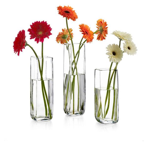 "Moderne Square Vase – 12"""
