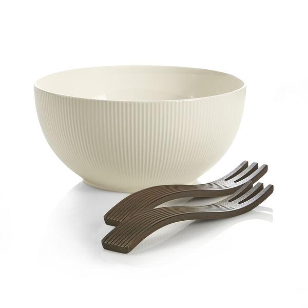 Origin Salad Bowl W/ Wood Servers