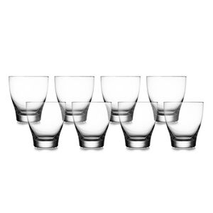 Vie Double Old Fashioned Glasses (Set of 8)