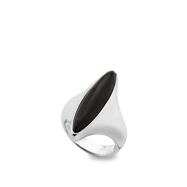 Marquise Ring - Smokey Quartz - Size 9