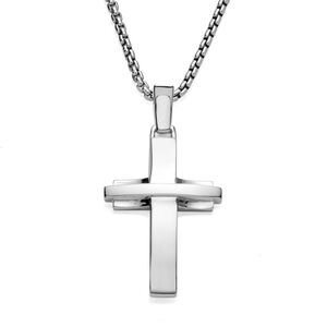 Streamlined Cross Pendant