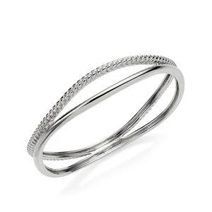 Braid Bangle Bracelet