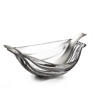 Drift Glass Salad Bowl w/ Servers