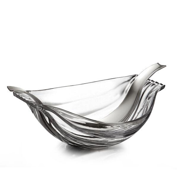 Drift Glass Salad Bowl w/ Servers