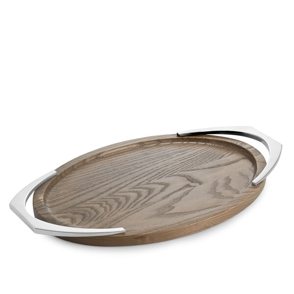 Cabo Oval Handled Tray
