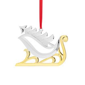 Sleigh w/ Tree Ornament