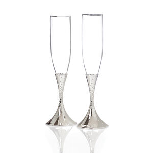 Dazzle Toasting Flutes (Set of 2)