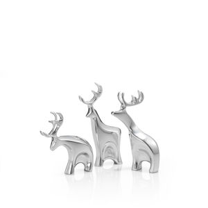 Miniature Dasher Reindeer Set