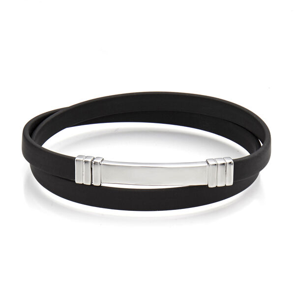 Wrap Around Rubber Bracelet
