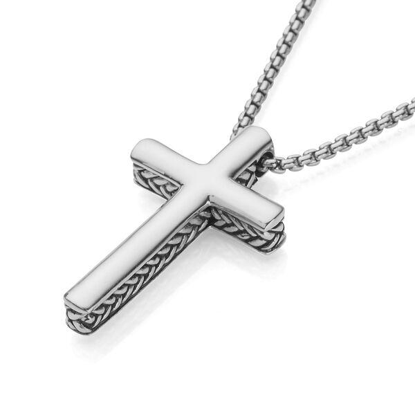 Braid Cross Pendant