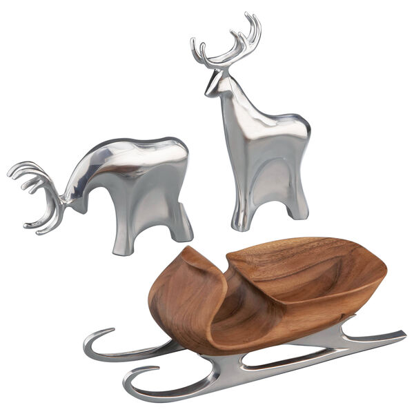 Sleigh with Reindeer