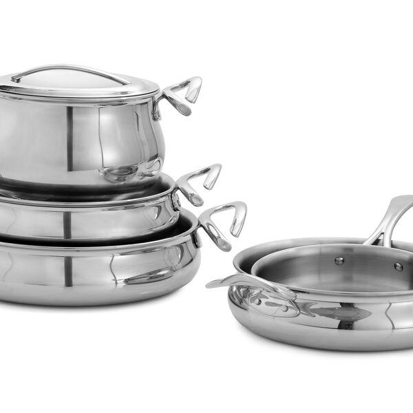 CookServ Classic Eight Piece Set w/ FREE Curvo Spatulas & Spoon Rest