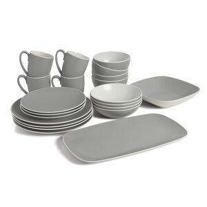 POP Starter Dinnerware Bundle - Slate (22 Pieces)