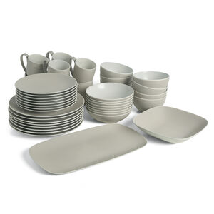 POP Complete Dinnerware Bundle - Sand (42 Pieces)