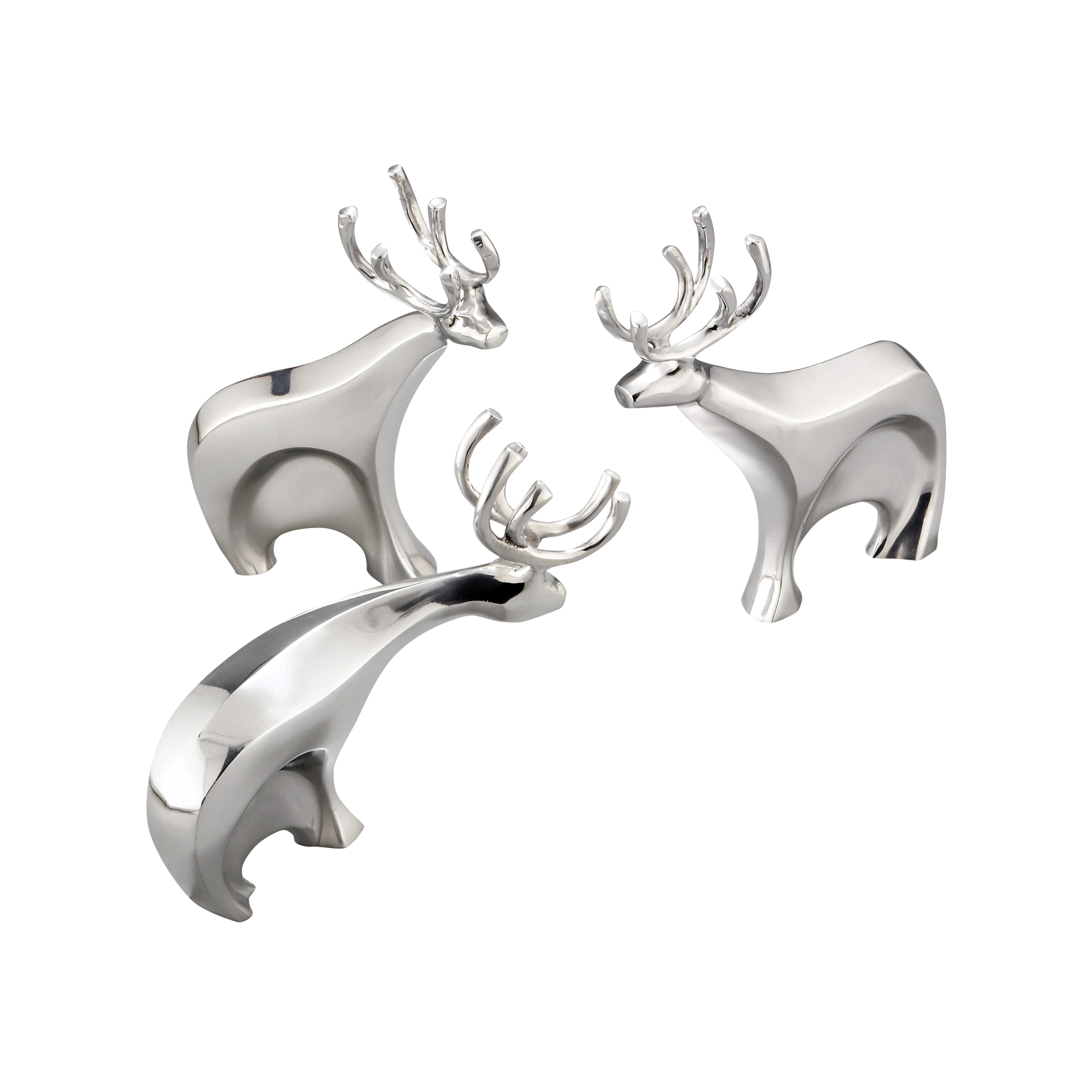 Dasher Reindeer Figurine Set image number 0