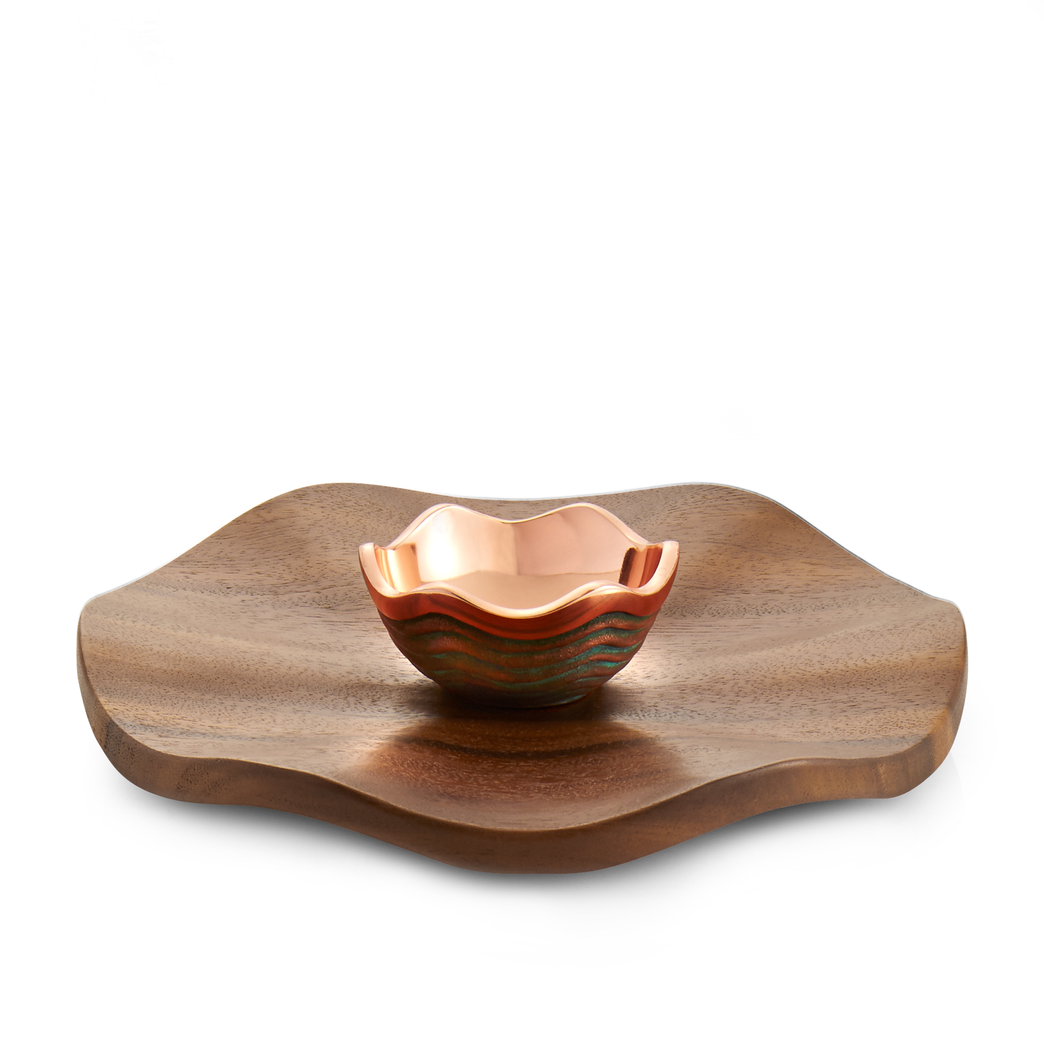 Nambe Copper Canyon Chip and Dip