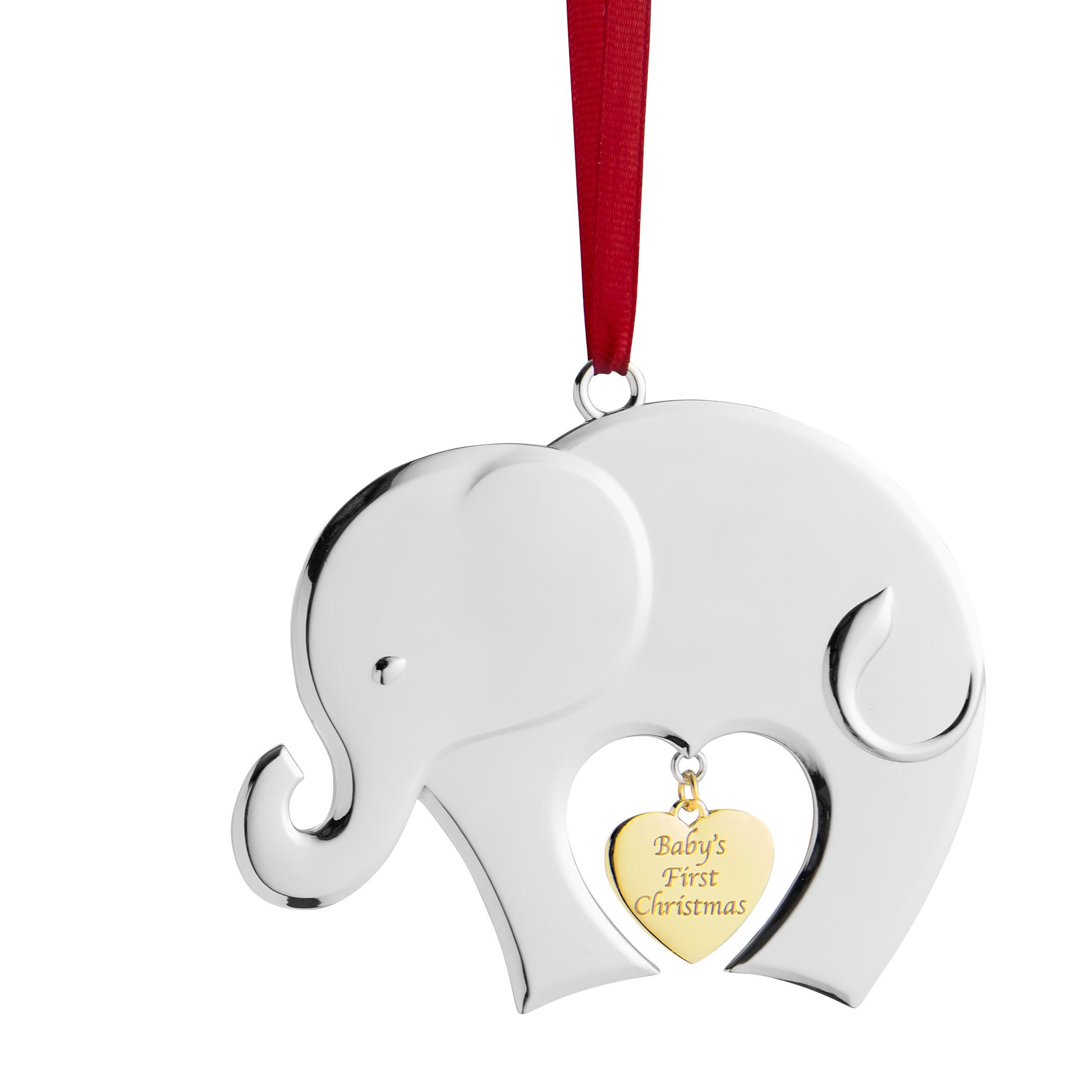 Nambé Baby's First Christmas 2020 Ornament | Nambe