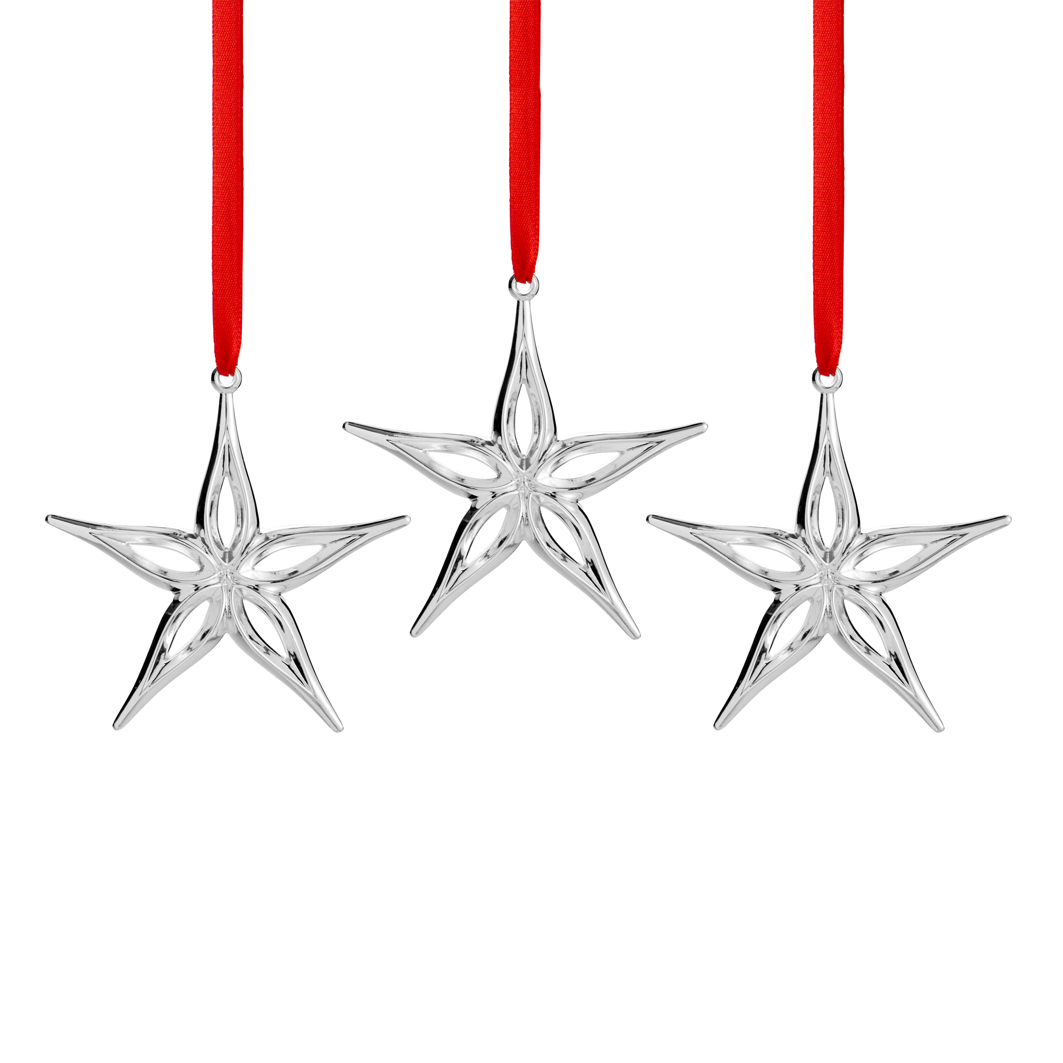 Star Mini Ornaments (Set of 3) image number 0
