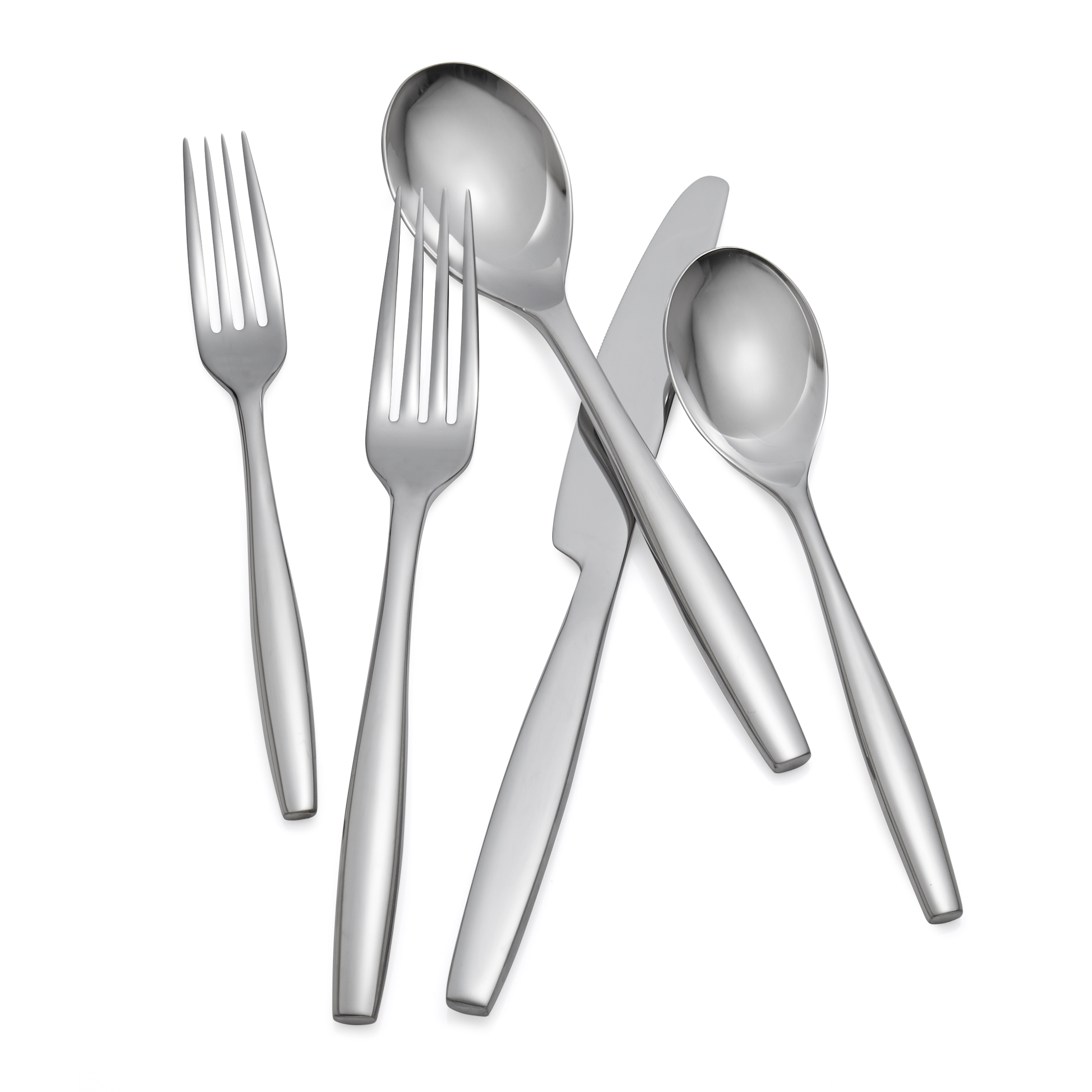 Aidan 45-Pc Flatware Set image number 3