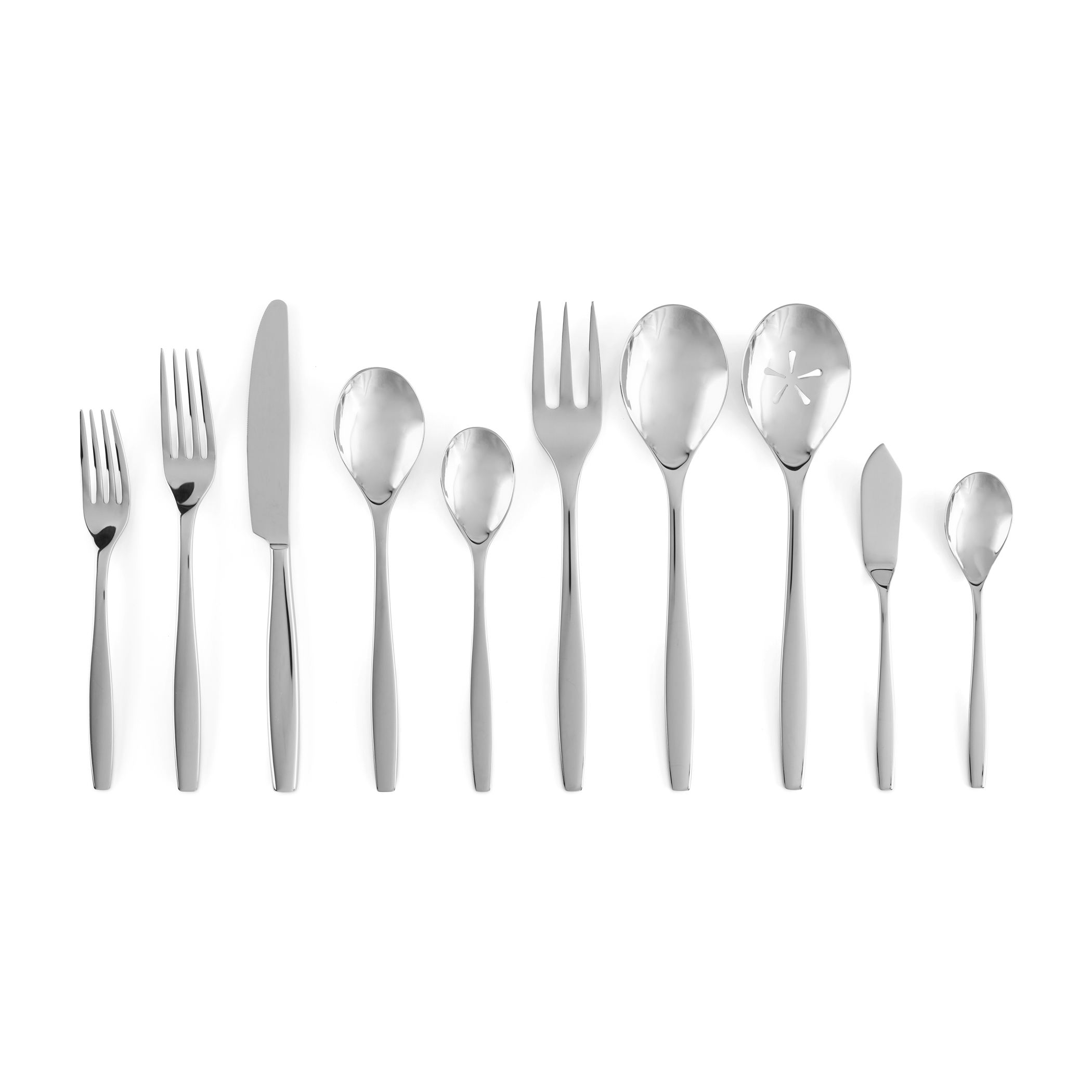 Aidan 45-Pc Flatware Set image number 0