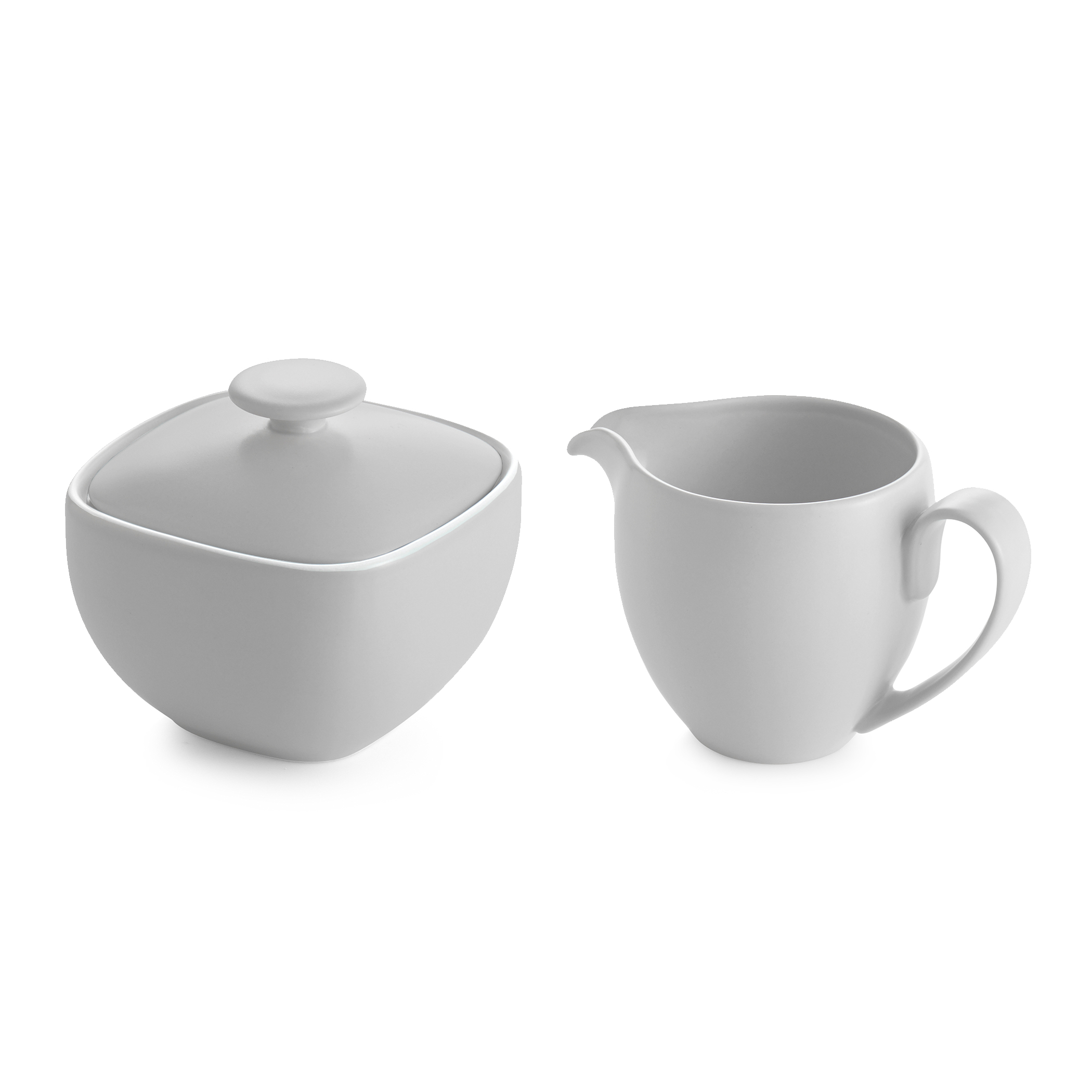 POP Sugar and Creamer Set - Chalk image number 0