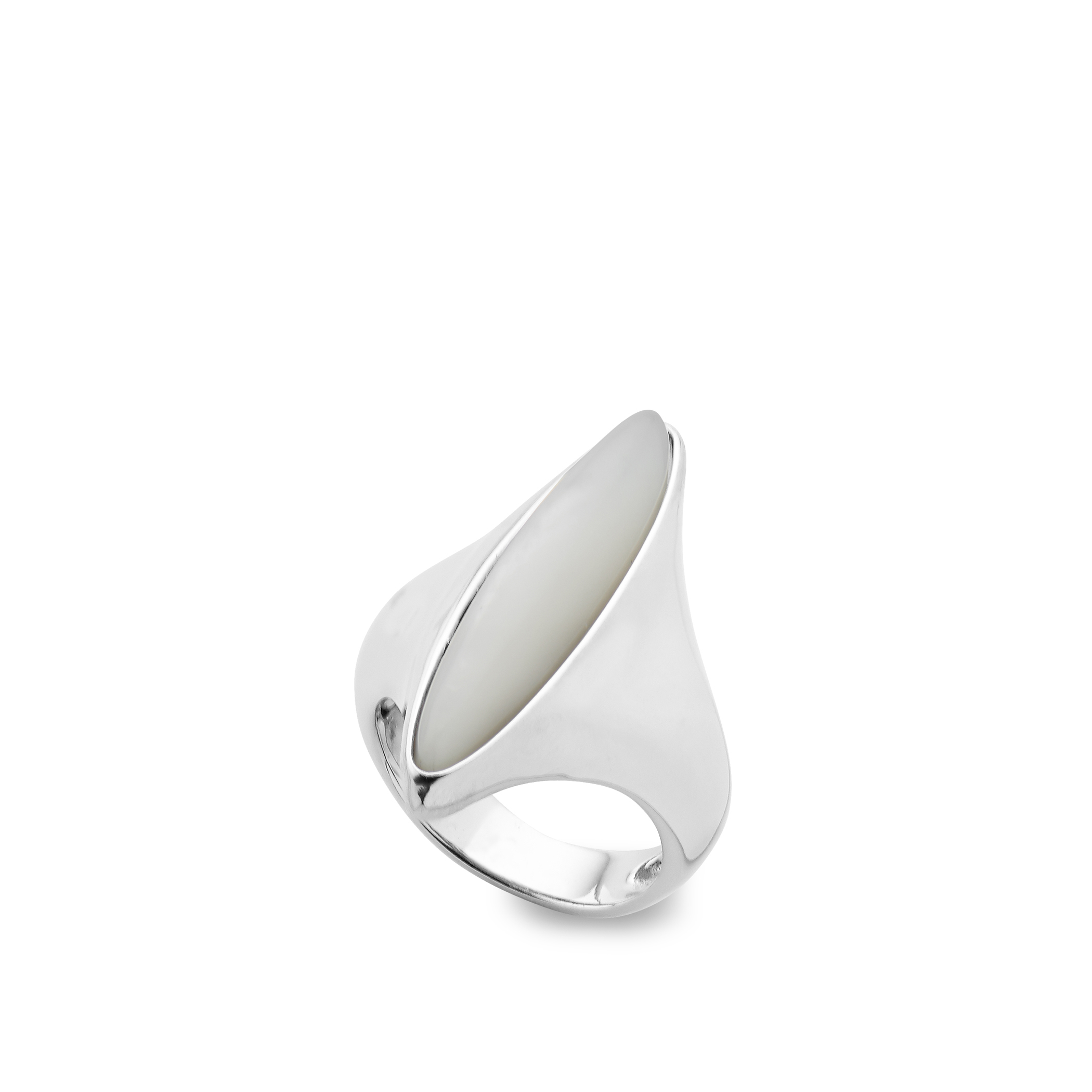 Marquise Ring - Mother of Pearl - Size 9 image number 0