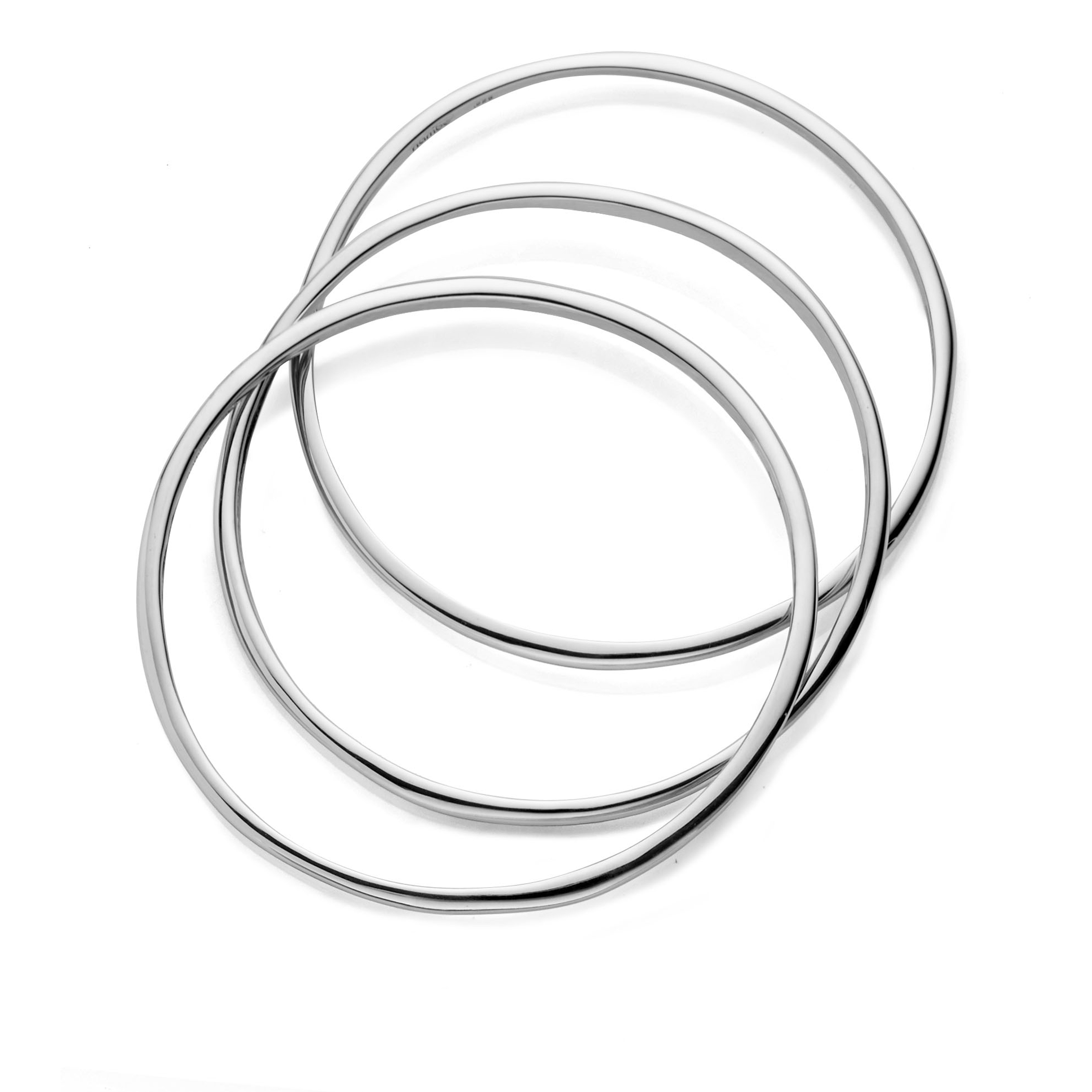 Signature Bangle Bracelets (Set of 3) image number 1