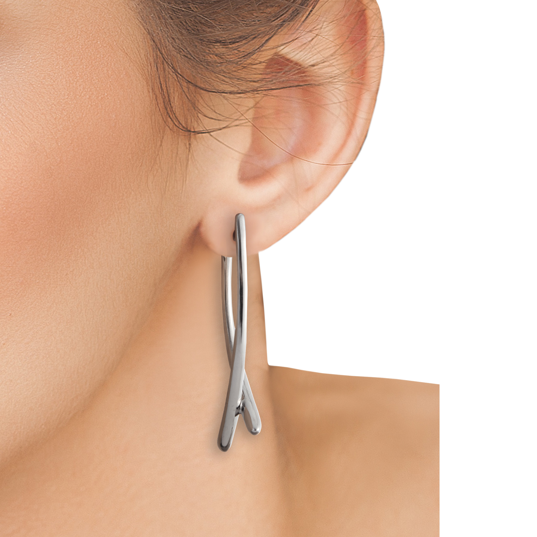 Double Arc Earrings image number 2